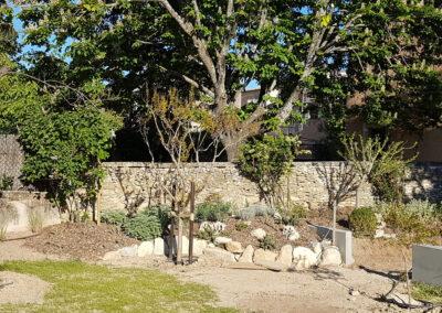 Jardin sec du hameau