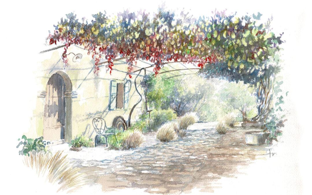 Jardin de la Molière (Saignon)