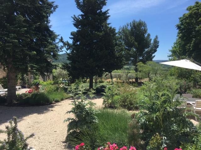 Jardin sec du hameau - méditerranéen -