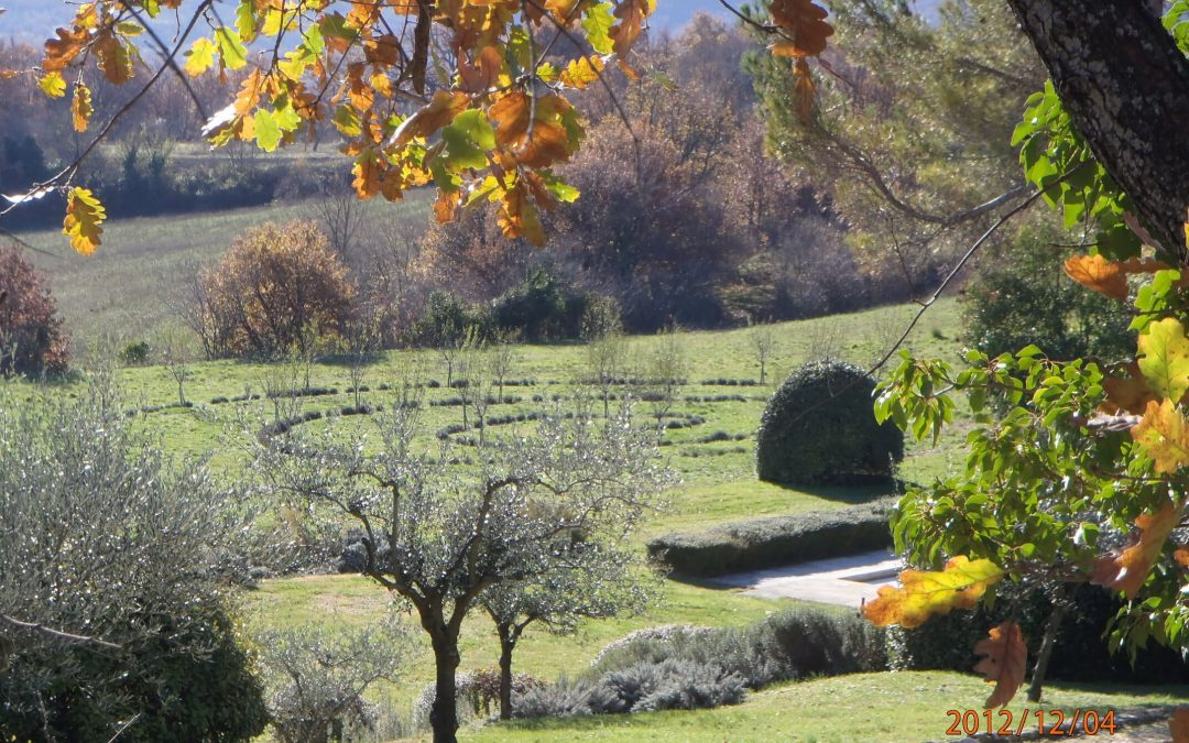 Jardin de la Source (Saint Martin de Castillon)
