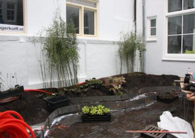travaux Jardin de la glkaerie Droog - amsterdam - Corinne Detroyat @ La moliere