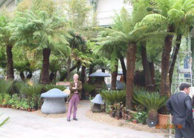 L'art du Jardin - grand Palais, Paris 2013. Création de Corinne Détroyat et Claude Pasquer