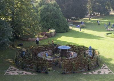 Côme – 2ème édition du Concours International de jardins Créatifs - création de Corinne Détroyat et Claude Pasquer